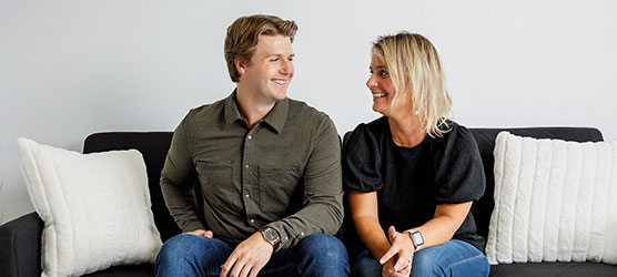Chiropractor St Louis Park MN Kyle Politz with Bethany Hamp